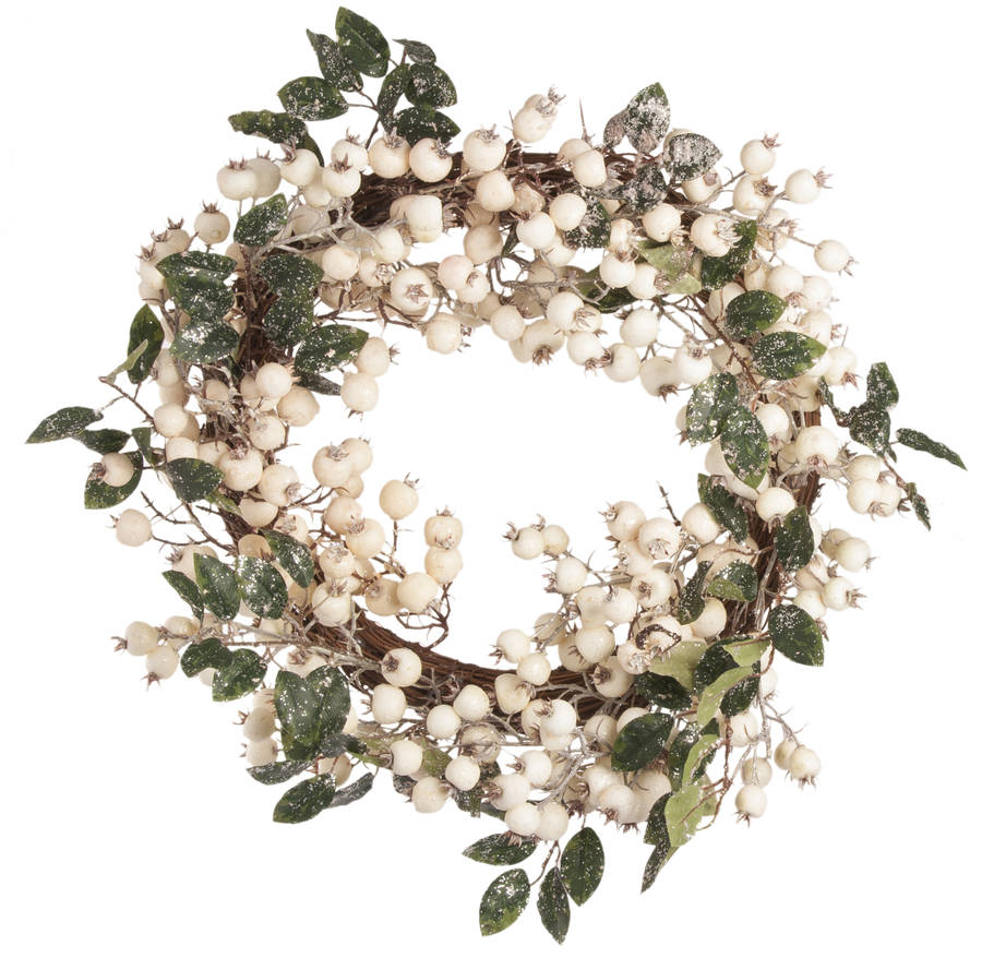original_white-glitter-berry-christmas-wreath-or-garland